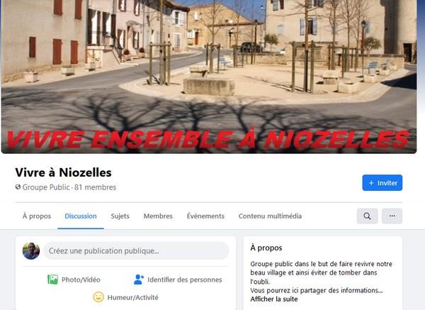 Le Groupe Vivre Ensemble à Niozelles